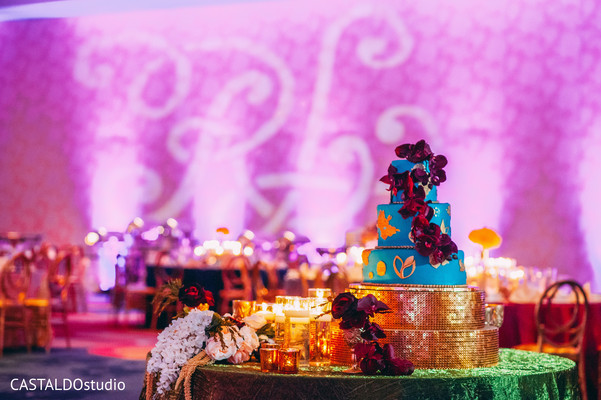 Incredible Indian wedding cake design.