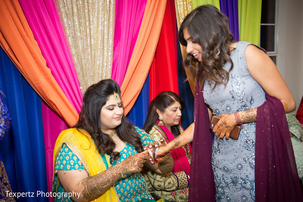 Indian bride with special guest