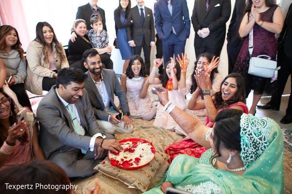 Indian wedding rituals happening