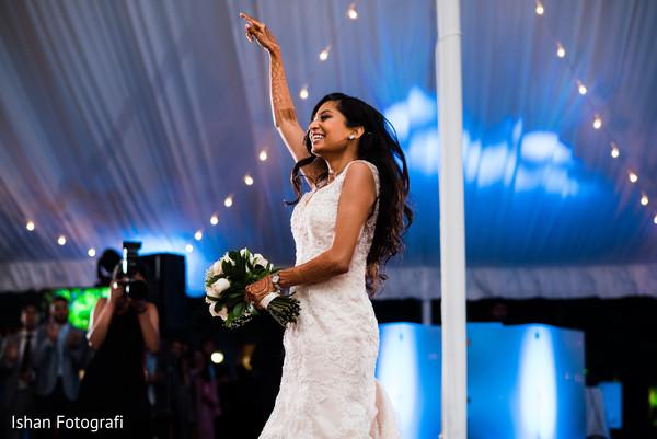 Bride looking stunning