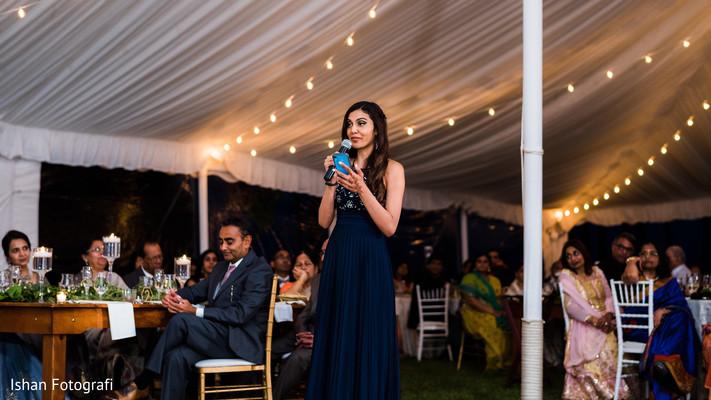 Indian wedding guest looking amazing