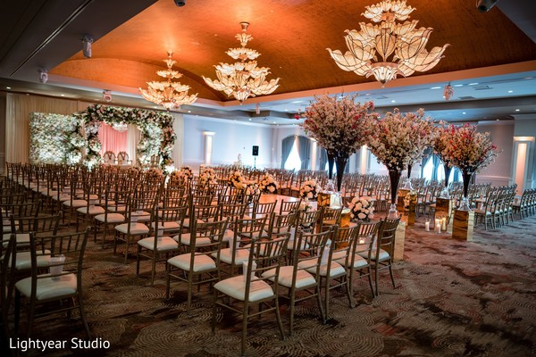 Incredible Indian wedding ceremony decor.