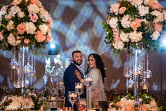 Breath taking indian wedding reception photo session
