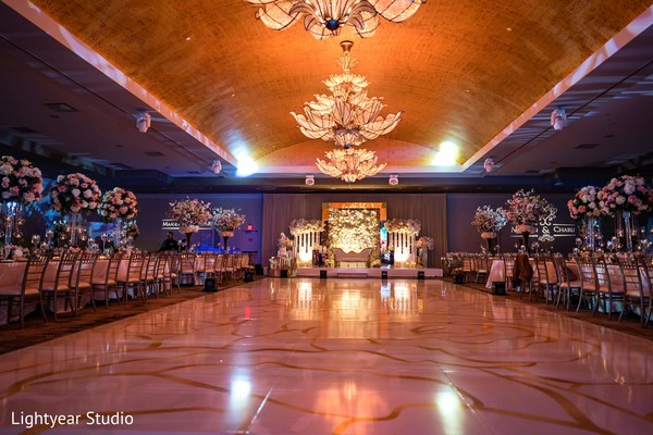 Splendid Indian wedding dance floor.