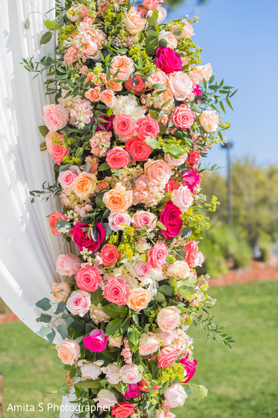 Fabulous Indian wedding floral decor.