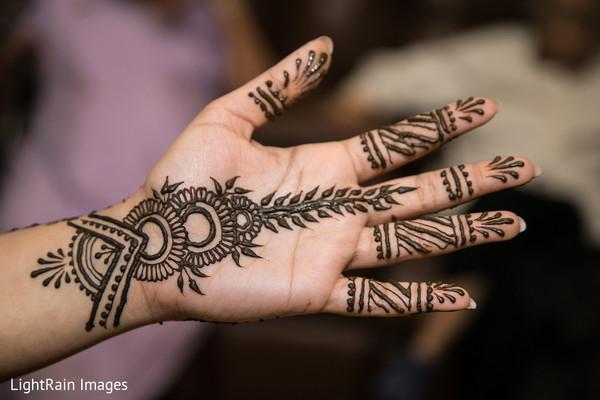 Indian bridal henna art