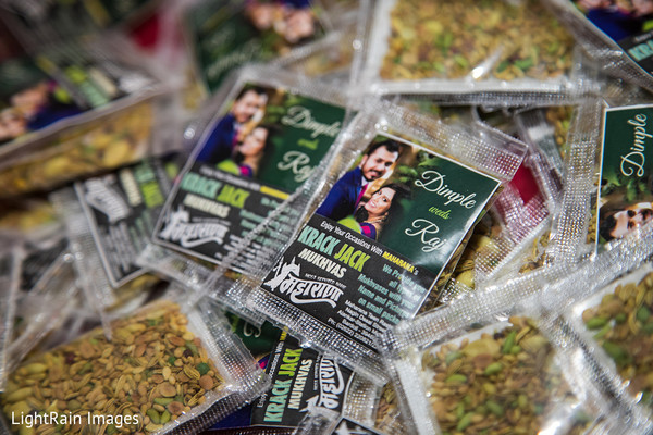 Indian wedding favors photography