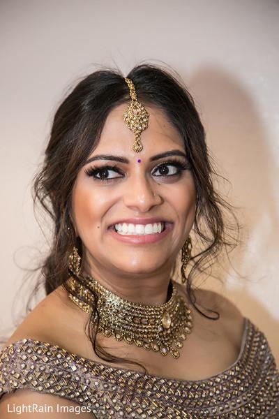 Perfect indian bridal makeup and hair