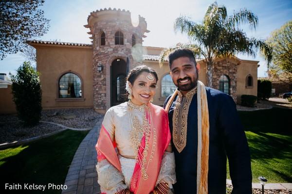 Maharani and Indian groom looking dazzling