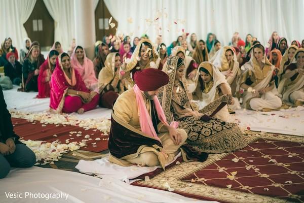 Marvelous Indian wedding ceremony ritual.