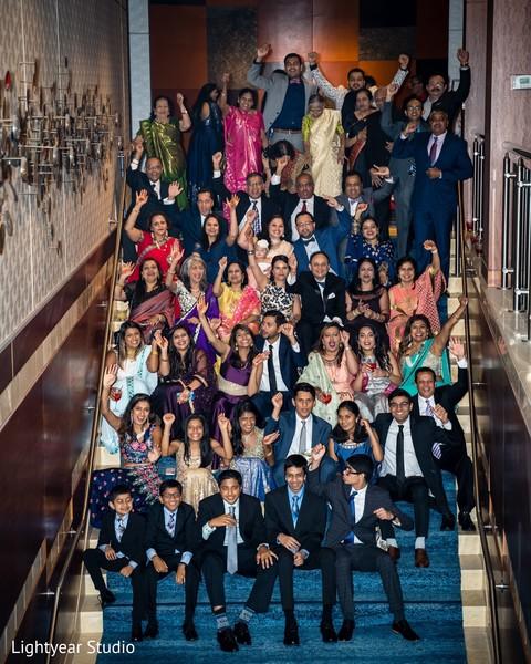 Great fabulous wedding reception photo.
