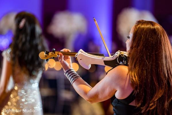 Indian wedding live music.