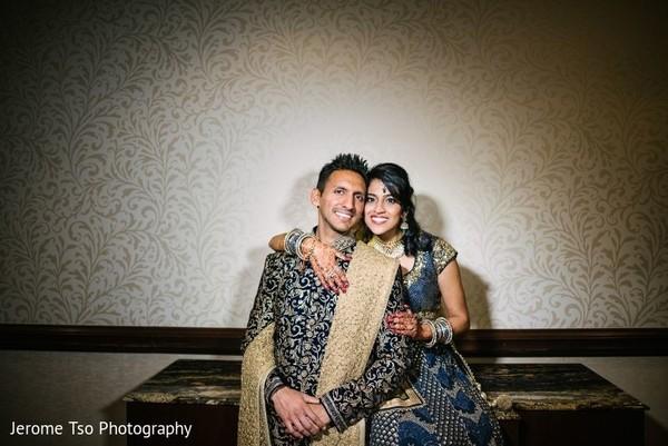 Raja and Maharani posing looking amazing
