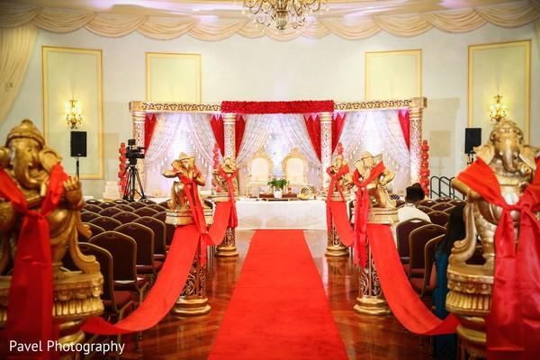 Incredible Indian wedding ceremony decoration.