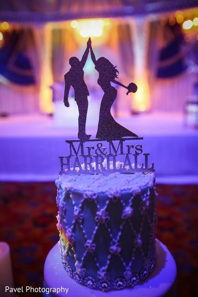 Marvelous Indian wedding cake topper.