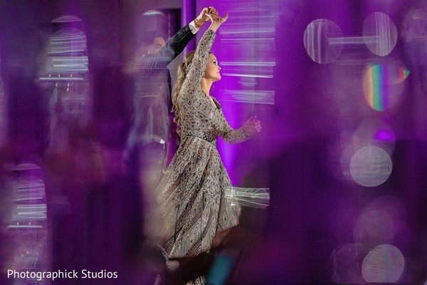 Phenomenal Indian's bride dancing portrait