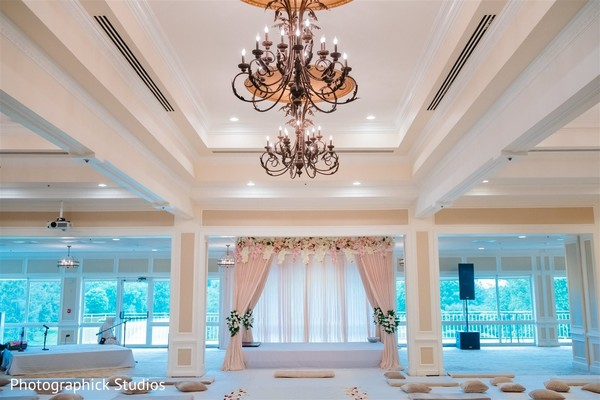 Stunning Indian wedding mandap decoration