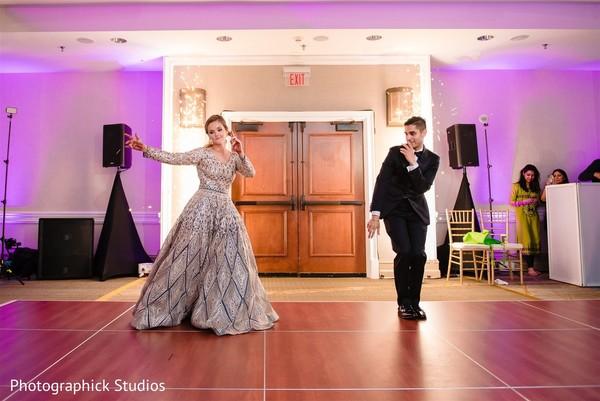 Fun Indian bride and groomsmen photo.