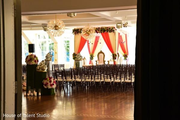 Marvelous Indian wedding ceremony venue.