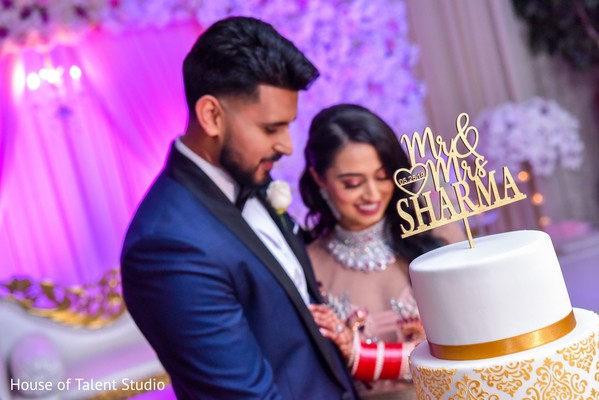 Marvelous indian wedding cake topper