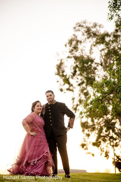 Most romantic outdoors photo shoot.