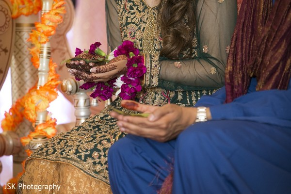 Traditional indian wedding ceremony items photography