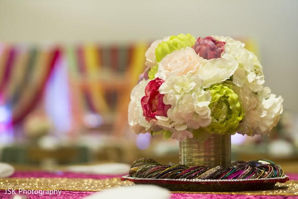 Amazingly beautiful table decoration with flowers.
