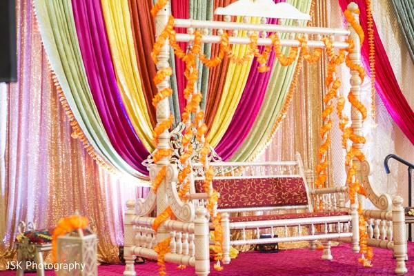 Dreamy stage decoration.