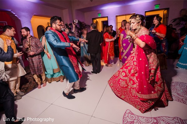 Sangeet dance capture.