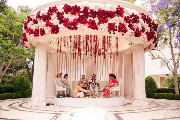 Luxury indian wedding.