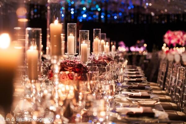 Stunning Indian wedding table decoration.