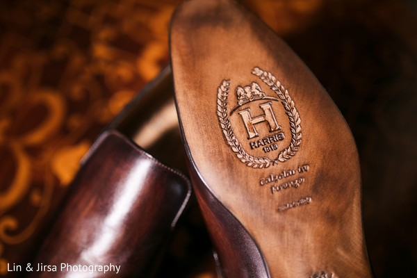Indian groom's shoes