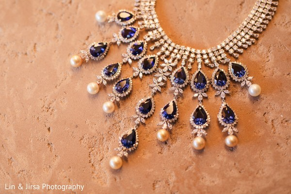Gorgeous jewelry used by the bride