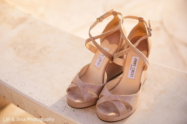 Shoes used by bride