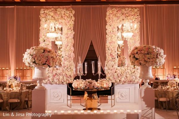 Floral arrangement decor details