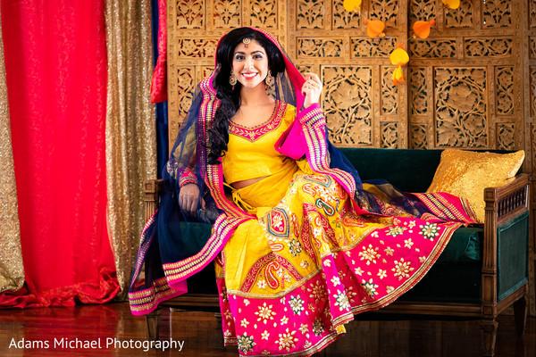 Beautiful photo shoot of Indian bride.