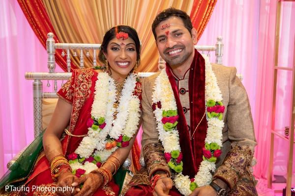 Fairytale indian wedding .