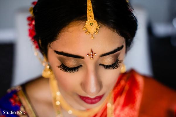 Indian bride looking stunning