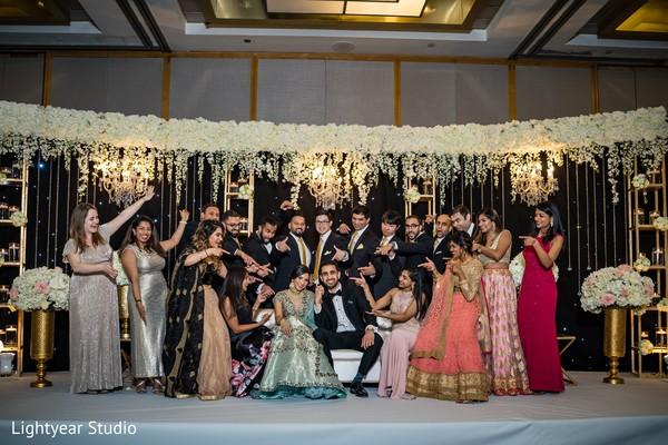 Splendid India wedding party
