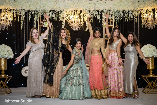 Lovely Indian wedding party