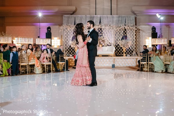 Such a romantic moment between our dancing Indian couple.