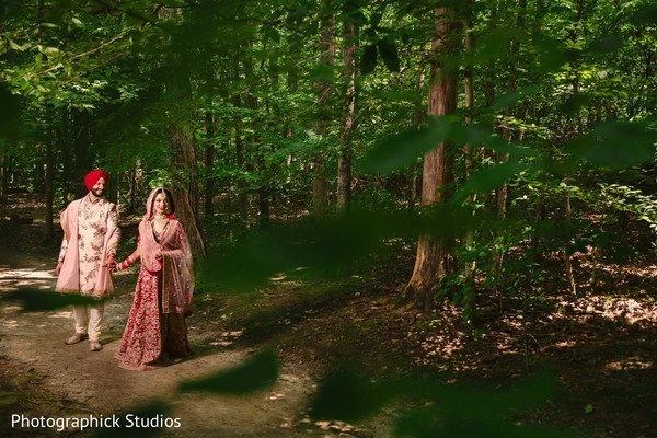Marvelous photo shoot of our indian couple.
