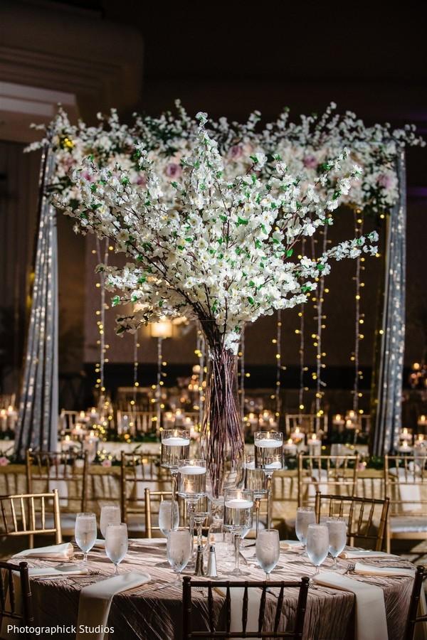Breathtaking table decoration.