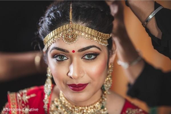 Marvelous Indian bridal portrait.