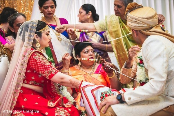 Take a look at this Traditional Indian wedding rituals.