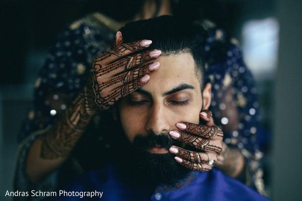 Indian groom looking neat