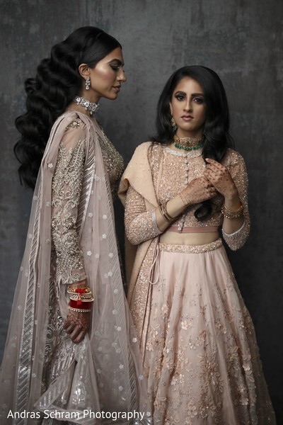 Gorgeous Maharanis posing
