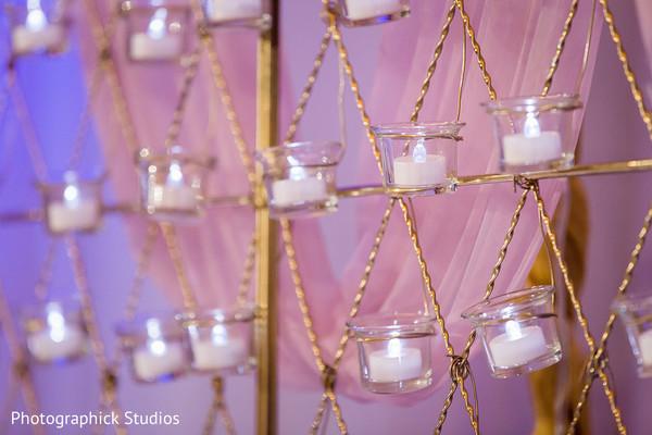Magnificent candles decoration