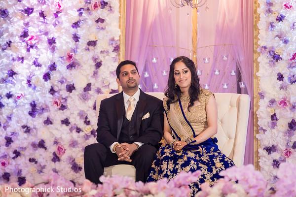 Magical indian wedding floral decor
