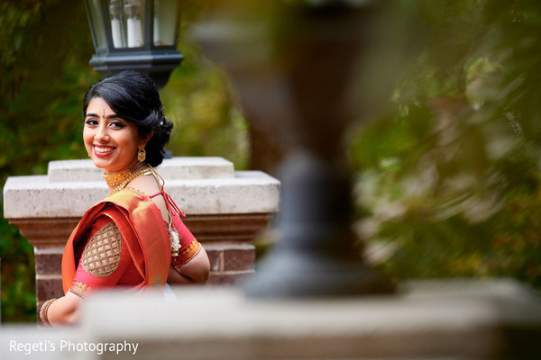 Gorgeous Indian bride capture in this photo shoot.